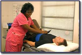 Charlotte Chiropractor consultation