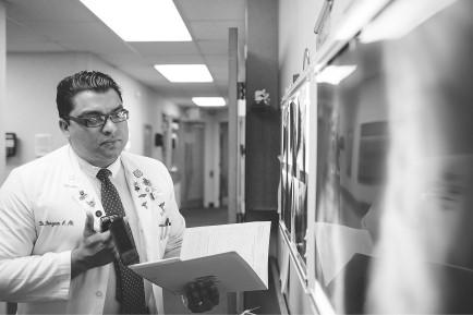 Dr. Ferzaan Ali- Top chiropractor by Charlotte Magazine